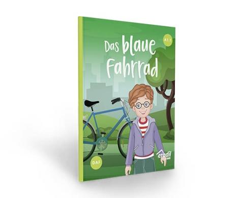 Das blaue Fahrrad
